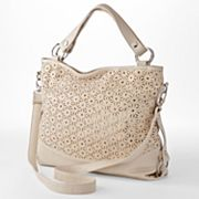 B-Collective by Buxton Perforated Sequin Convertible Shoulder Bag