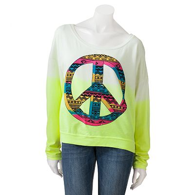 Jerry Leigh Native Peace Hoodie - Juniors