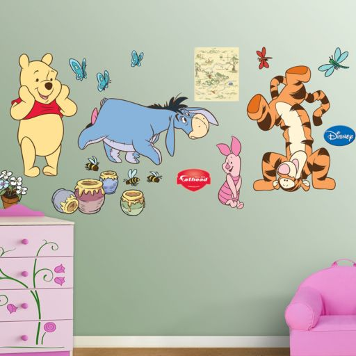 Disney Winnie the Pooh and Friends Wall Decals by Fathead