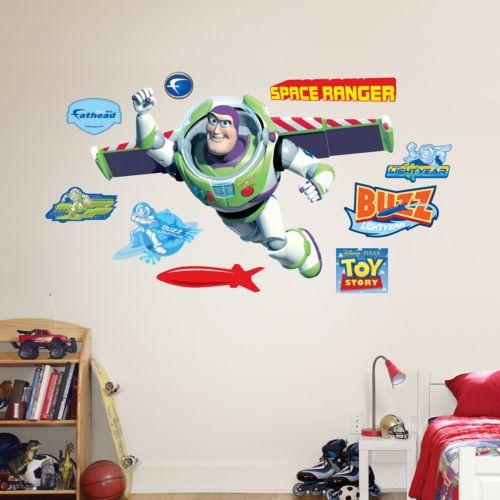 Disney / Pixar Toy Story Buzz Lightyear Wall Decals by Fathead