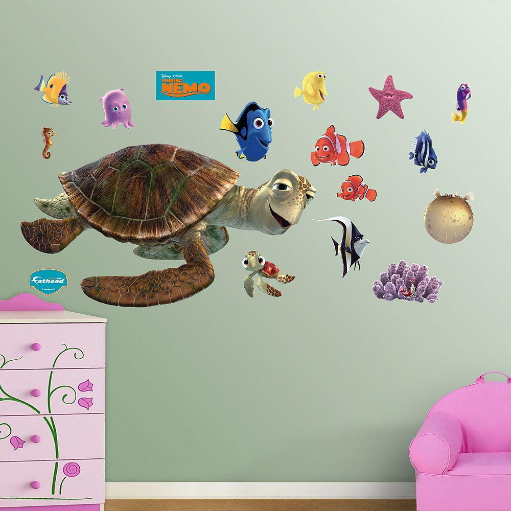 Pixar finding nemo wall decals by fathead disney pixar finding nemo wall decals by fathead amipublicfo Gallery