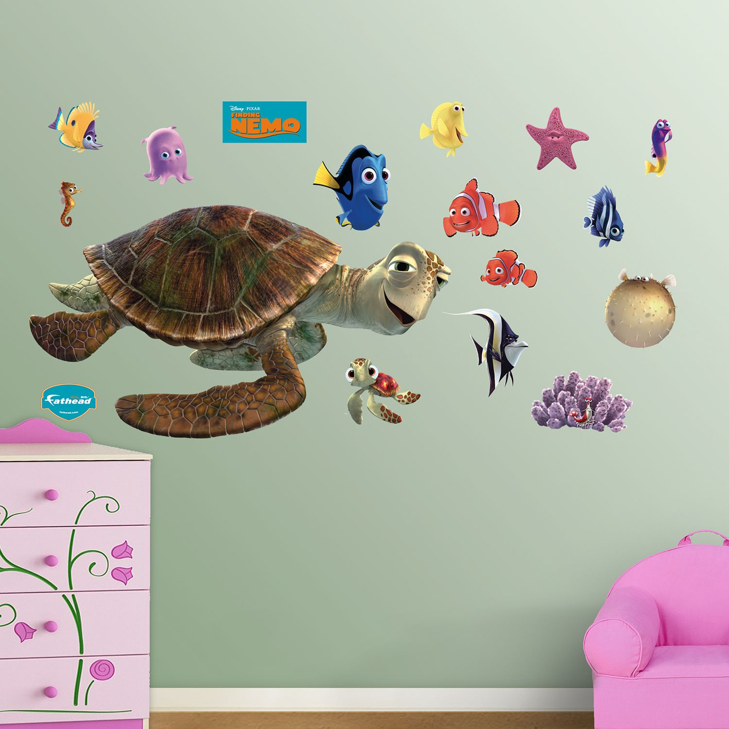 Attirant Disney / Pixar Finding Nemo Wall Decals By Fathead