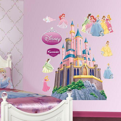 Disney Princess Castle Wall Decals by Fathead