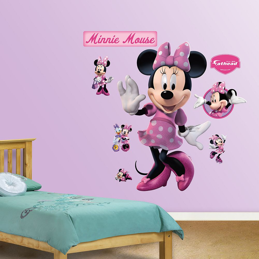 Mickey mouse friends minnie mouse wall decals by fathead disney mickey mouse friends minnie mouse wall decals by fathead amipublicfo Image collections