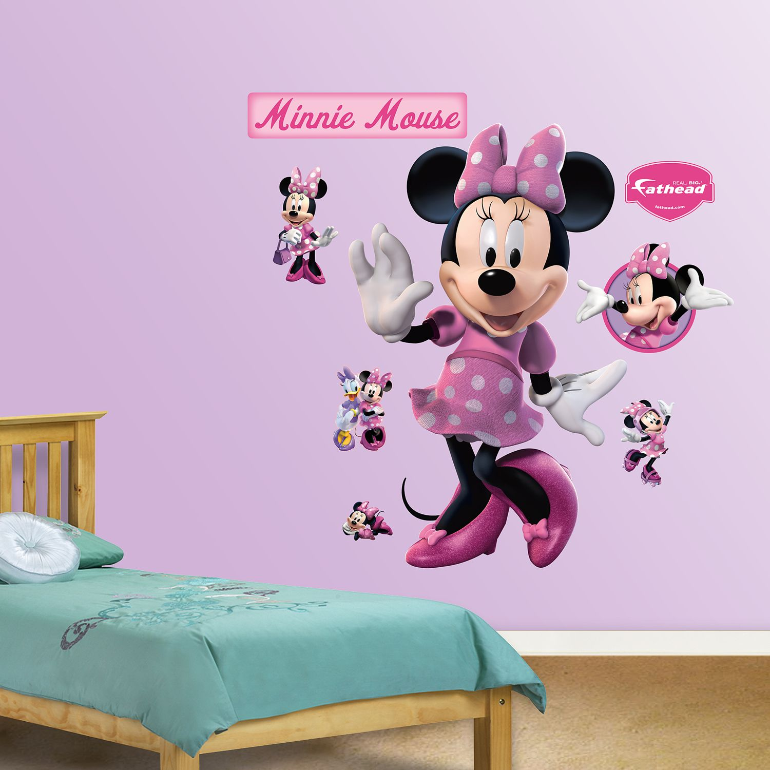 Attirant Disney Mickey Mouse U0026 Friends Minnie Mouse Wall Decals By Fathead