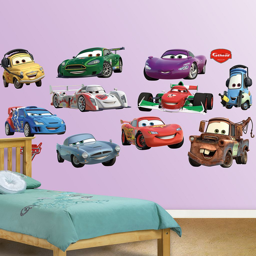 Disney / Pixar Cars 2 Collection Wall Decals by Fathead