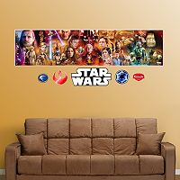 Star Wars Movie Mural Wall Decals by Fathead