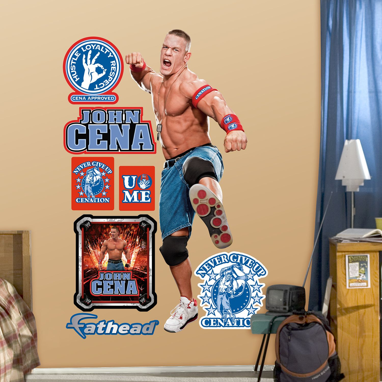 Fathead John Cena Wall Decals Part 97