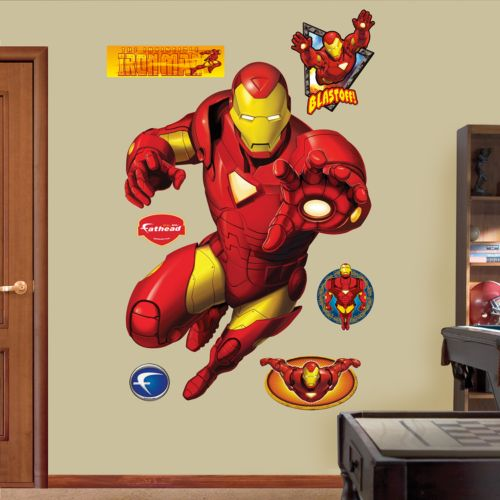 Iron Man Wall Decals by Fathead