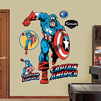 Captain America Wall Decals by Fathead