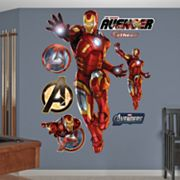 The Avengers Iron Man Wall Decals by Fathead