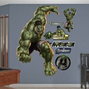 The Avengers Incredible Hulk Wall Decals by Fathead