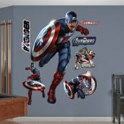 The Avengers Captain America Wall Decals by Fathead