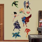 Justice League Wall Decals by Fathead