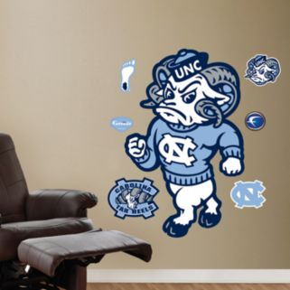 Fathead North Carolina Tar Heels Rameses Wall Decals
