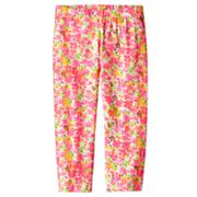 SO Floral Capri Leggings - Girls Plus
