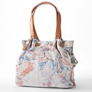 B-Collective by Buxton Floral Leather Shoulder Bag