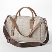B-Collective by Buxton Leather Convertible Satchel