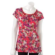 ELLE Floral Empire Top