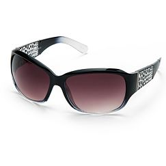 Dana Buchman Animal Rectangle Sunglasses