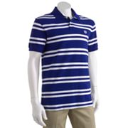 Chaps Custom-Fit Striped Polo