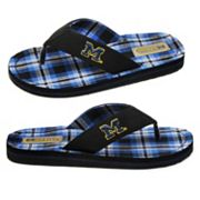 Michigan Wolverines Flip-Flops - Adult