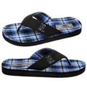 Nevada Wolf Pack Flip-Flops - Men