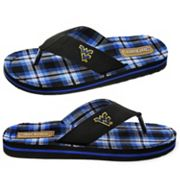 West Virginia Mountaineers Flip-Flops - Men