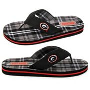 Georgia Bulldogs Flip-Flops - Adult
