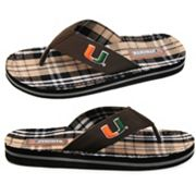 Miami Hurricanes Flip-Flops - Adult
