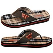 Virginia Tech Hokies Flip-Flops - Men