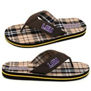 LSU Tigers Flip-Flops - Men