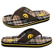 Iowa Hawkeyes Flip-Flops - Men