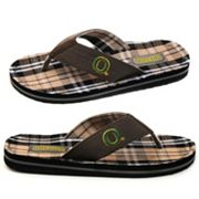 Oregon Ducks Flip-Flops - Men