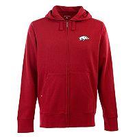 Men's Arkansas Razorbacks Signature Full-Zip Fleece Hoodie
