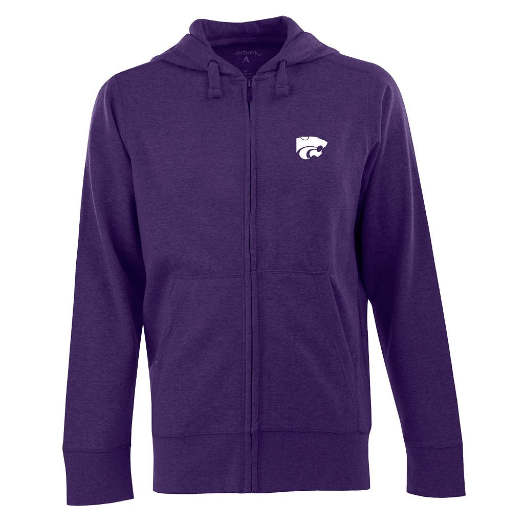 Men's Kansas State Wildcats Signature Full-Zip Fleece Hoodie