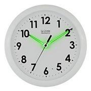 La Crosse Illuminations 10 in Wall Clock