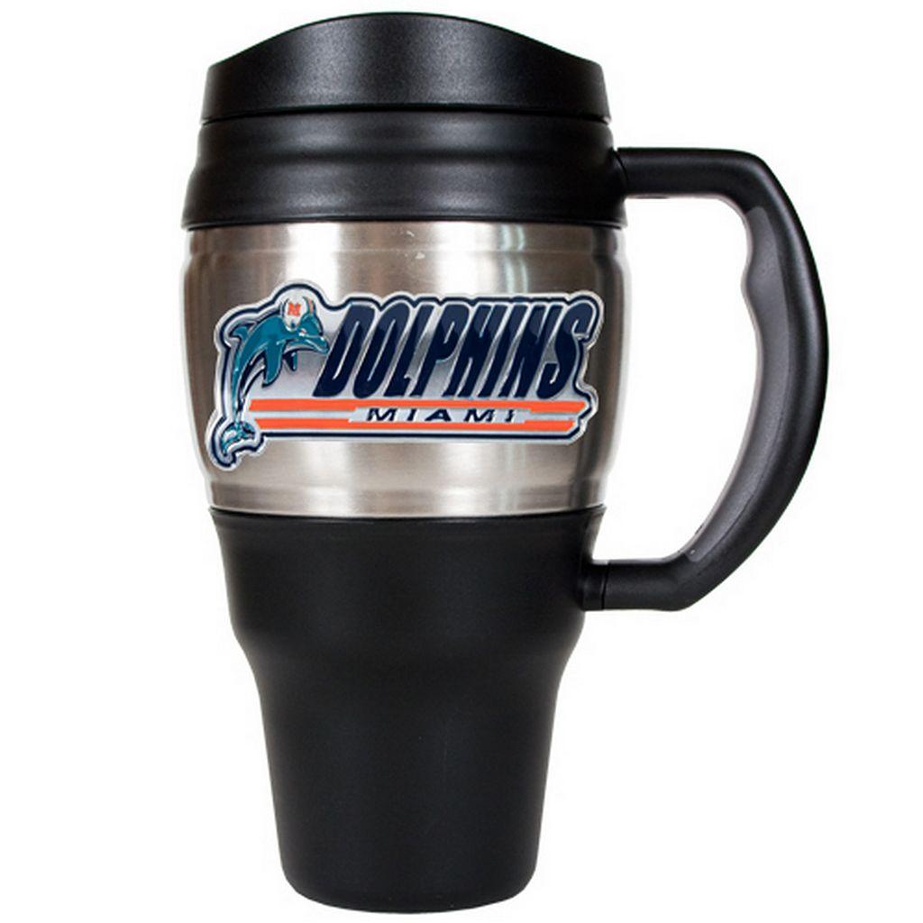 Miami Dolphins Travel Mug