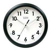 La Crosse Illuminations 10-in. Wall Clock