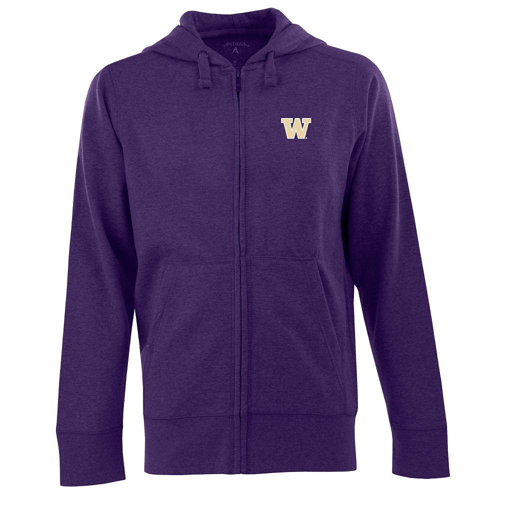Men's Washington Huskies Signature Full-Zip Fleece Hoodie