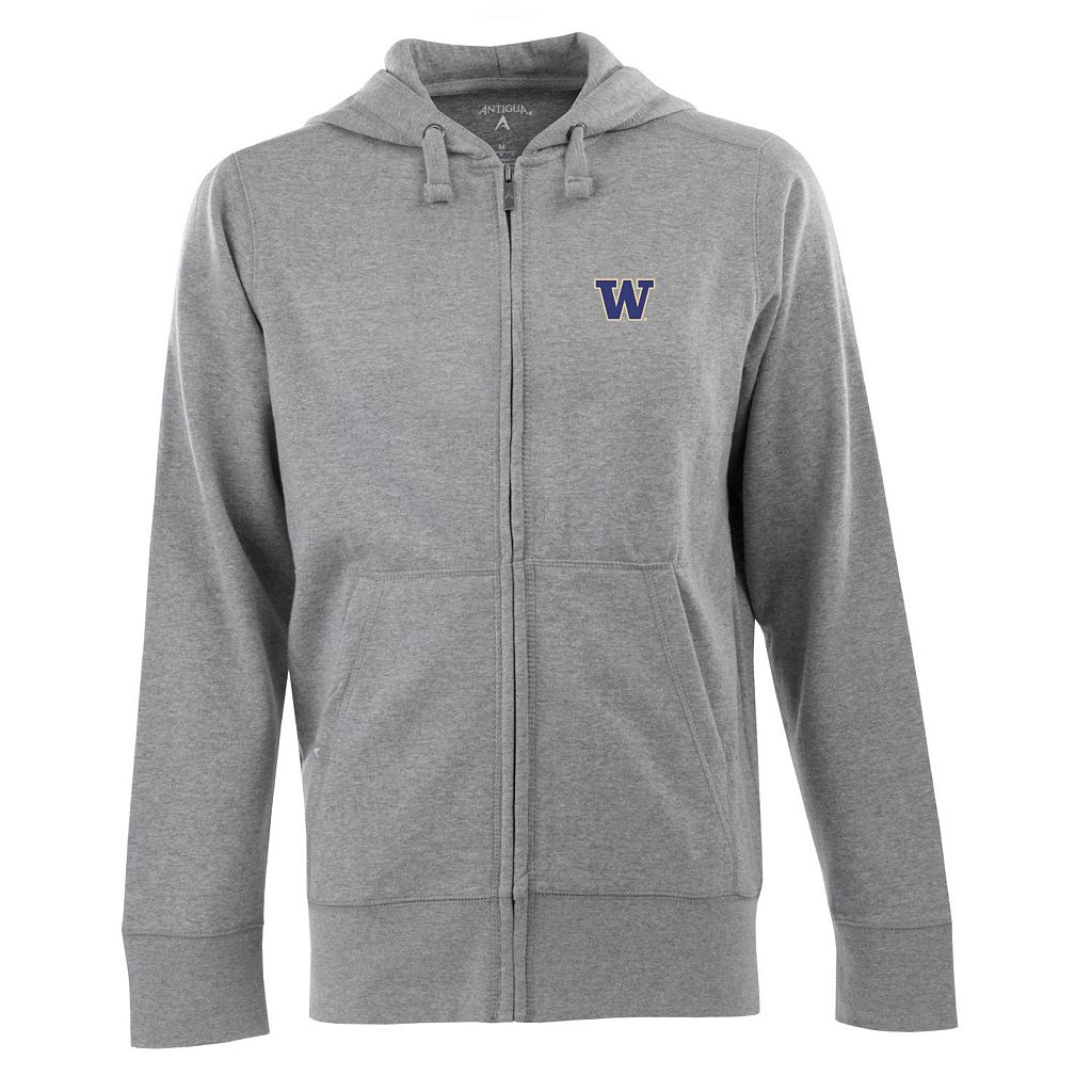 Men's Washington Huskies Signature Full-Zip Fleece Hoodie