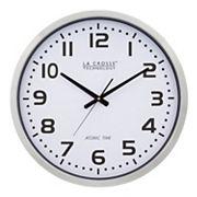 La Crosse Technology 20 in Atomic Analog Wall Clock