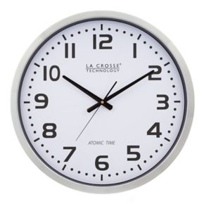La Crosse Technology 20-in. Atomic Analog Wall Clock