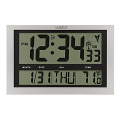 La Crosse Technology Radio-Controlled Wall Clock