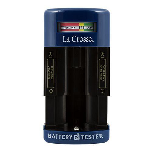 La Crosse Technology Portable Battery Tester