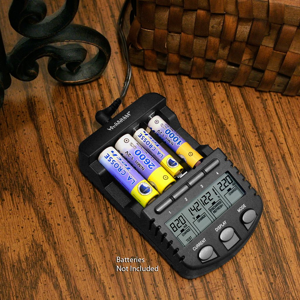 La Crosse Technology Alpha Power Battery Charger