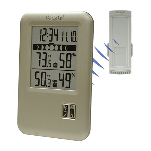 La Crosse Technology Weather Station with Moon Phase