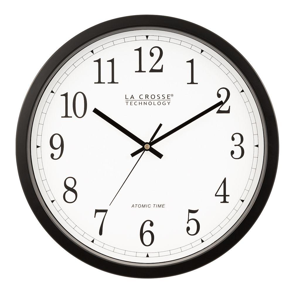 La Crosse Technology 14-in. Atomic Analog Wall Clock
