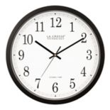 La Crosse Technology 14-in. Atomic Analog Wall Clock