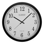La Crosse Technology 14 in Atomic Analog Wall Clock